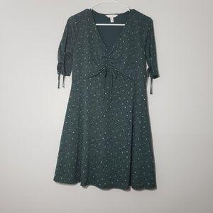 LC Lauren Conrad Midi Empire Fit Petite Dress
